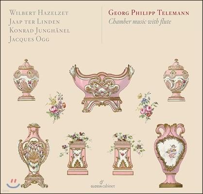 Wilbert Hazelzet 텔레만: 플루트가 포함된 실내악 작품들 (Telemann: Chamber Music with Flute) 빌베르트 하첼체트