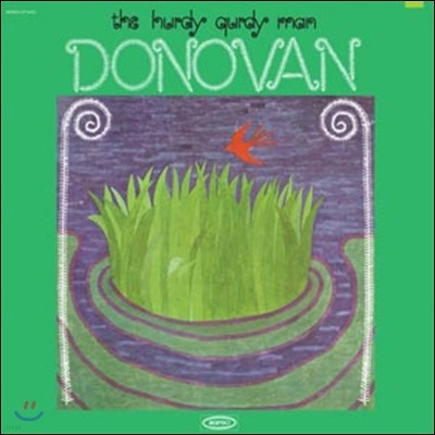 Donovan - The Hurdy Gurdy Man 도노반 6집 (Mono Edition) [그린 컬러 LP]