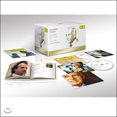 Maurizio Pollini 마우리치오 폴리니 도이치 그라모폰 전집 박스세트 (Complete Recordings on Deutsche Grammophon[DG])
