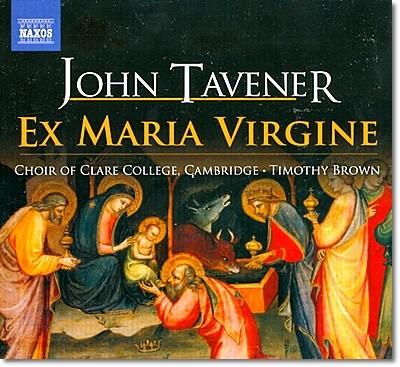 태브너 : 합창과 오르간을 위한 크리스마스 음악들 (Ex Maria Virgine 외)