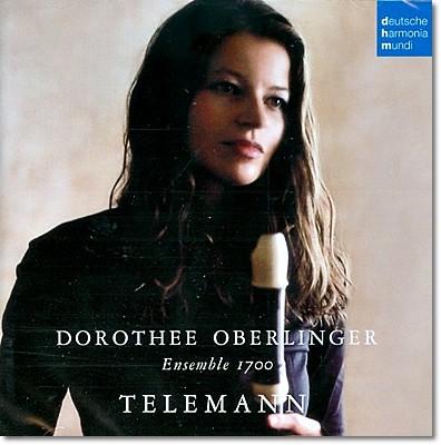 Dorothee Oberlinger 텔레만 : 리코더 작품집 (Telemann: Works for Recorder) 도로테 오베를링거