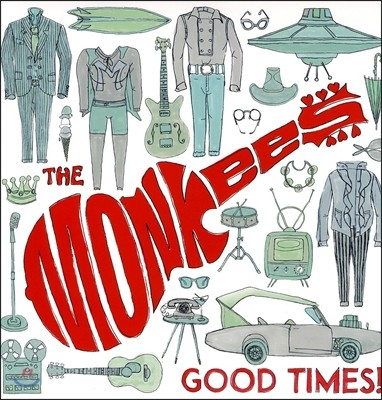 The Monkees (몽키스) - Good Times! [결성 50주년 기념 베스트 앨범 / LP]