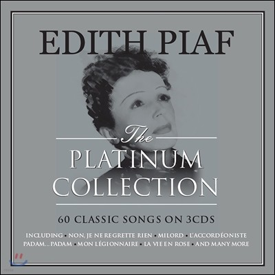 Edith Piaf (에디트 피아프) - The Platinum Collection