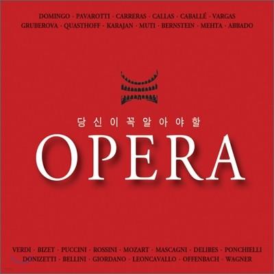 당신이 꼭 알아야 할 오페라