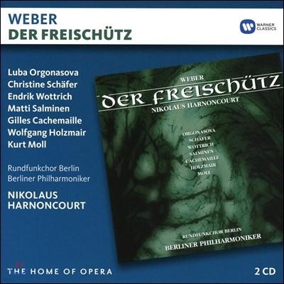 Nikolaus Harnoncourt / Wolfgang Holzmair 카를 마리아 폰 베버: 마탄의 사수 (Carl Maria von Weber: Der Freischutz) 니콜라우스 아르농쿠르, 베를린 필하모닉