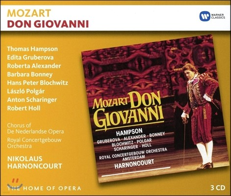 Nikolaus Harnoncourt 모차르트: 돈 조반니 (Mozart: Don Giovanni, K527)