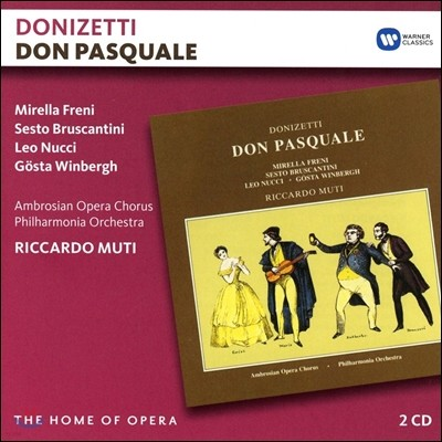 Riccardo Muti / Mirella Freni 도니제티: 돈 파스콸레 (Donizetti: Don Pasquale) 미렐라 프레니, 리카르도 무티, 필하모니아 오케스트라