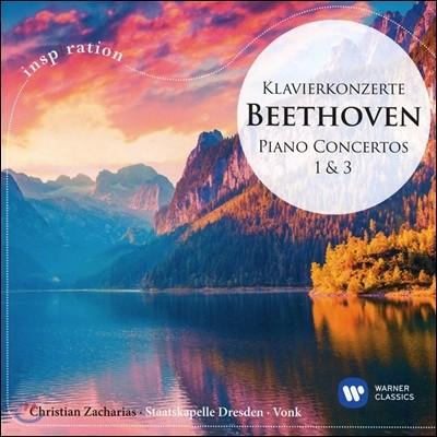 Hans Vonk / Christian Zacharias 베토벤: 피아노 협주곡 1, 3번 (Beethoven: Piano Concertos Op.15, Op.37)
