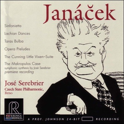 Jose Serebrier 야냐첵: 관현악 작품집 (Janacek: Orchestral Works)