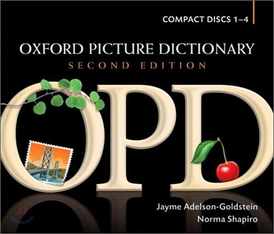 Oxford Picture Dictionary : Compact Discs 1-4, 2/E