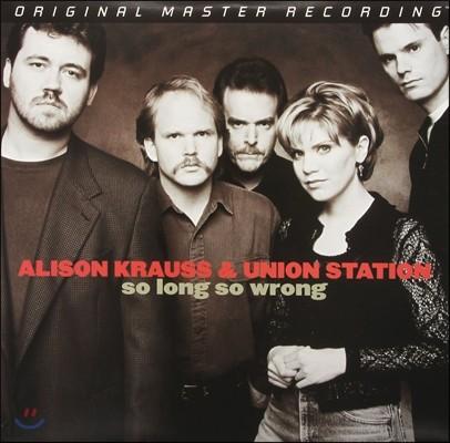 Alison Krauss & Union Station (앨리슨 크라우스 앤 유니언 스테이션) - So Long So Wrong [2 LP]