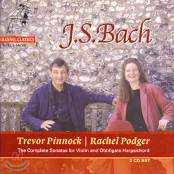 Rachel Podger 바흐: 바이올린과 하프시코드를 위한 소나타 (Bach: The Complete Sonatas For Violin And Obbligato Harpsichord) 레이첼 포저
