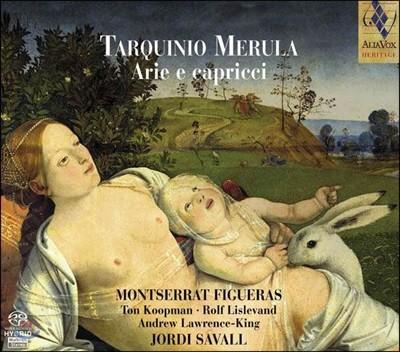 Montserrat Figueras 타르퀴니오 메룰라: 아리아와 카프리치오 (Tarquinio Merula: Arie e Capricci)