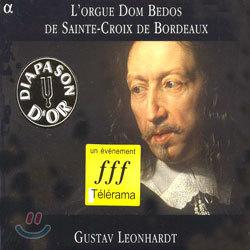 L'orgue Dom Bedos De Sainte-Croix De Bordeaux : Gustav Leonhardt