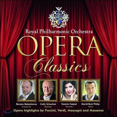Royal Philharmonic 로열 필하모닉 오케스트라가 연주하는 오페라 작품들 (Opera Classics) 레나토 발사도나