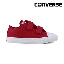 [컨버스키즈] CATS Ⅱ 2V OX SALSA RED/WHITE/NAVY 754199C (베이비)