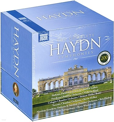 하이든 : 교향곡 전곡집 (The Complete Haydn Symphonies) [34CD]