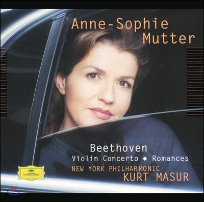 Anne-Sophie Mutter 베토벤: 바이올린 협주곡, 로망스 (Beethoven: Violin Concerto, Romances)