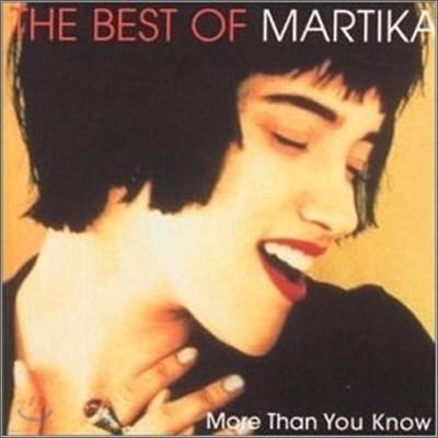 Martika - Best Of Martika: More Than You