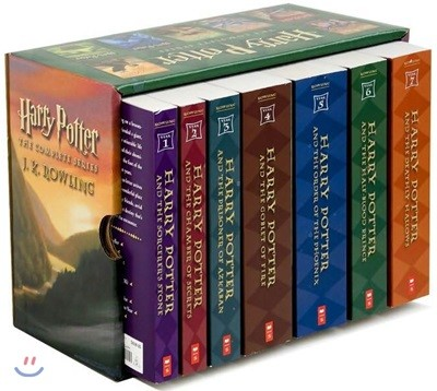 Harry Potter Paperback Boxed Set Book 1-7 : 해리 포터 7권 박스 세트 (미국판)