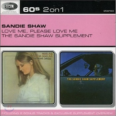 Sandie Shaw - Love Me, Please Love Me + Sandie Shaw Supplement