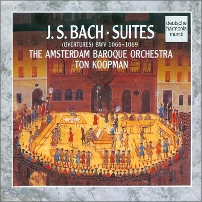 Bach : Suites (Overtures) Bwv 1066-1069 - Koopman