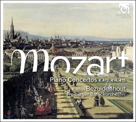 Kristian Bezuidenhout 모차르트: 피아노 협주곡 11, 12, 13번 [포르테피아노 연주] (Mozart: Piano Concertos K.413, K.414, K.415)