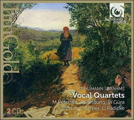 Werner Gura / Marlis Petersen 슈만 / 브람스: 가곡 - 성악 사중창 (Schumann / Brahms: Vocal Quartets - Lieder)