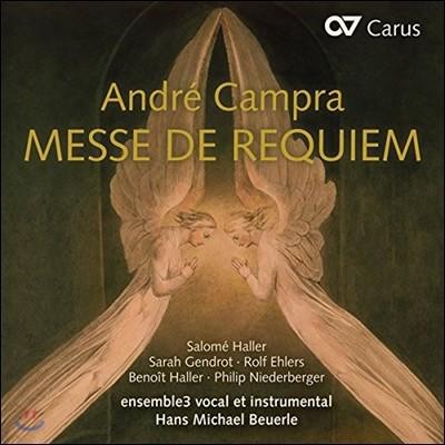 Hans Michael Beuerle 앙드레 캉프라: 레퀴엠 (Andre Campra: Messe De Requiem) 한스 미하엘 보이에를, 앙상블 3