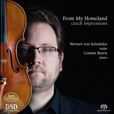 Werner von Schnitzler 체코 바이올린 작품집 (From My Homeland - Czech Impressions) 베르너 폰 슈니츨러