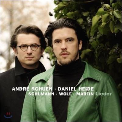 Andre Schuen 슈만 / 볼프 / 마르탱: 가곡집 (Schumann / Wolf / Martin: Lieder) 안드레 슈엔, 다니엘 하이데