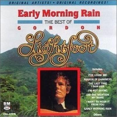 Gordon Lightfoot - Early Morning Rain - Best Of Gordon Lightfoot