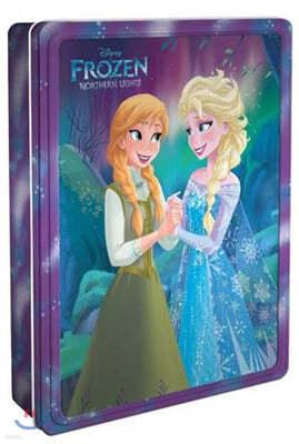 Disney Frozen Northern Lights Happy Tin : 디즈니 겨울왕국 틴 세트