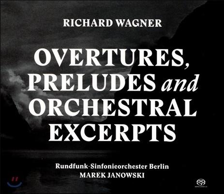 Marek Janowski 바그너: 서곡, 전주곡, 관현악 발췌 (Wagner: Overtures, Preludes and Orchestral Excerpts) 베를린 방송교향악단, 마렉 야노프스키