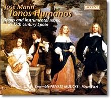 Stephan van Dyck 호세 마린: 17세기 스페인의 가곡과 기악곡 (Echo de Paris - Parisian Love Songs 1610-1660)