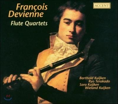 Barthold Kuijken 드비엔느: 플루트 사중주 (Francois Devienne: Flute Quartets)