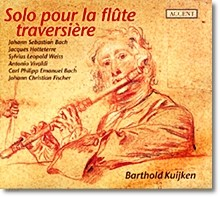 Bach / Hotteterre / Weiss / Vivaldi : Barthold Kuijken Solo Plays For Transverse Flute
