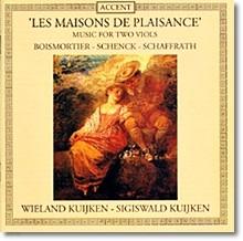 Les Maisons De Plaisance - Music For Two Viols