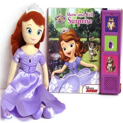 Book & Plush : Disney Sofia the First Surprise 디즈니 소피아 인형 + 사운드북