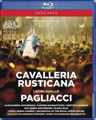 Antonio Pappano 마스카니: 카발레리아 루스티카나 / 레온카발로: 팔리아치 (Mascagni: Cavalleria Rusticana / Leoncavallo: Pagliacci) 안토니오 파파노, 로열 오페라 하우스 오케스트라