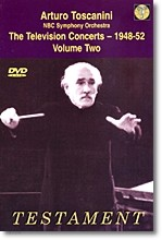Arturo Toscanini 아르투로 토스카니니 1948-52년 텔레비전 콘서트 2집 (The Television Concerts)