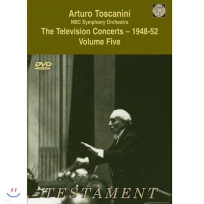 아르투로 토스카니니 1948~52년 텔레비전 콘서트 5집