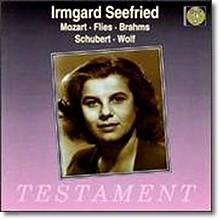 Irmgard Seefried  이름가르트 제프리트 독일 가곡 - 모차르트 / 브람스 / 슈베르트 (Mozart / Brahms / Schubert)