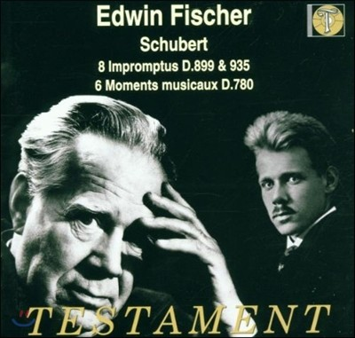 Edwin Fischer 슈베르트: 즉흥곡, 악흥의 시간 (Schubert : Impromptus D.899,935, 6 Moments Musicaux D.780)