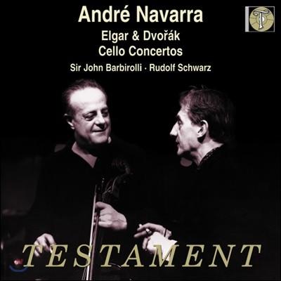 Andre Navarra 드보르작 / 엘가: 첼로 협주곡 - 앙드레 나바라 (Dvorak / Elgar : Cello Concertos)