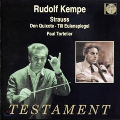 Rudolf Kempe 슈트라우스: 돈 키호테 (R.Strauss : Don Quixote, Till Eulenspiegel)