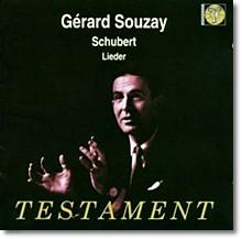슈베르트 : 가곡집 백조의 노래 외 - 제라르 수제