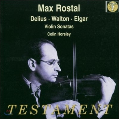 Max Rostal 막스 로스탈 바이올린 소나타 연주집 - 델리우스 / 엘가 / 윌튼