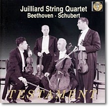 Juilliard String Quartet 슈베르트: 현악사중주 14번 `죽음과소녀` (Beethoven String Quartet No.14 Op.131 /Schubert : String Quartet No.14  D.810)