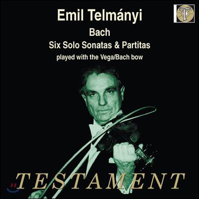 Emil Telmanyi 바흐: 바이올린을 위한 소나타와 파르티타 - 에밀 텔마니